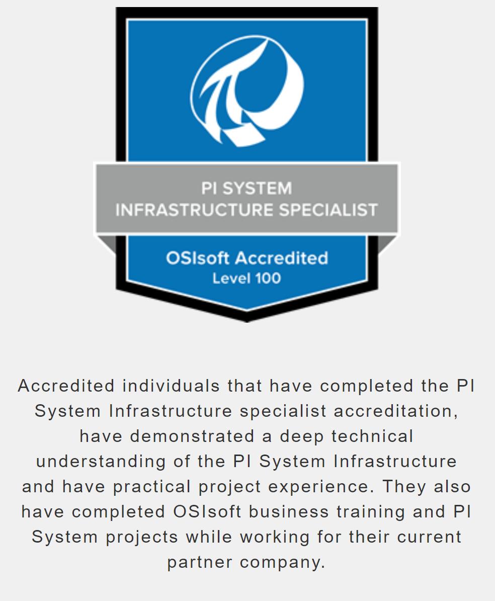 OSIsoft Infrastructure Specialist Werusys