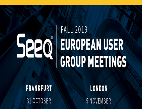 Seeq Regional User Group – Frankfurt, Germany
