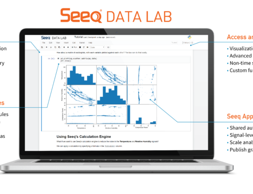 Integration von Data Analytics und Enterprise KI durch Seeq Data Labs