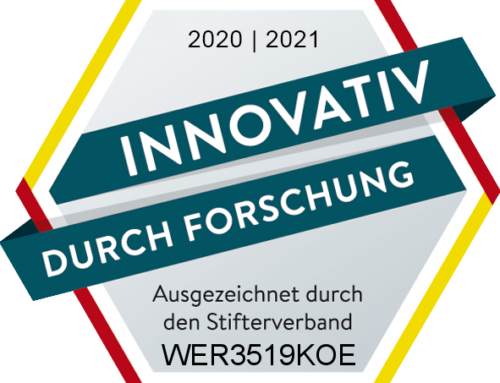 Werusys awarded: INNOVATIVE THROUGH RESEARCH