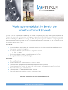 Jobanzeige Asp .NET
