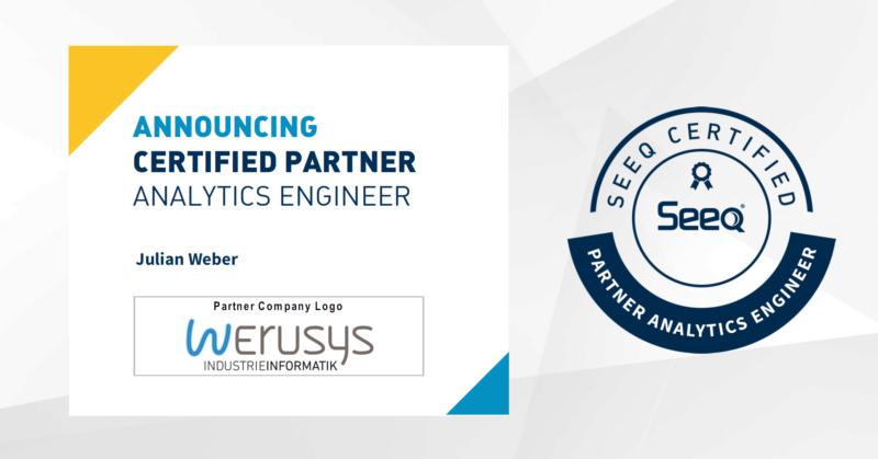 Seeq Partner Analytics Engineer Julian Weber